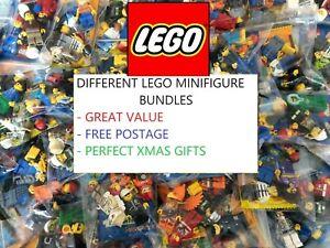 CHEAP LEGO MINIFIGURES bundles/joblots - RANDOM, STAR WARS, NINJAGO, CMF figures