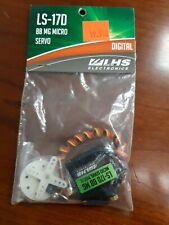 LHS 180317 Electronics LS-17D BB MG Micro Digital Servo NEW IN PACKAGE!