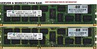 8GB (2x4GB) DDR3-1333 PC3-10600R 10600 ECC Registered CL9 240-p DIMM Memory RAM