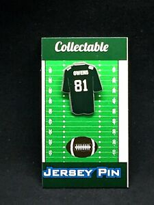 Philadelphia Eagles Terrell Owens jersey lapel pin-Classic team Collectible