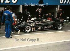 Elio De Angelis JPS Lotus 91 Swiss Grand Prix 1982 Photograph 2