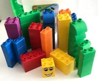 Lego QUATRO 5357 Bricks Set w/ Bin & top 73 Pieces Age 1-3 Toddler