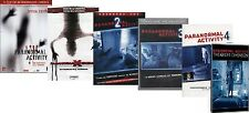Dvd PARANORMAL ACTIVITY 1-2-3-4 El Dimension Ghost/Experience (6 Película) NUEVO