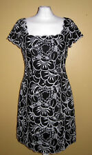 Coast Broderie Anglaise Flower Embroidery 100% Linen Dress UK10