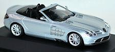 Mercedes Benz SLR McLaren Roadster crystal laurit silver metallic 1:43 Minichamp