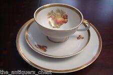 Jaeger (Germany)-Mid Century-Trio cup, saucer & dessert plate,Harvest[4-2c*]