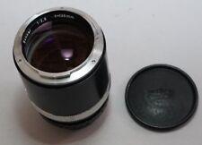 Zeiss Ikon Contarex Sonnar 135mm f/2.8 Nikon F mount modified