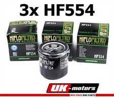 3x HIFLO FILTRE A HUILE HF554 HIFLO