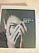 andylau everyone is no.1 BRAND NEW AND SEALED