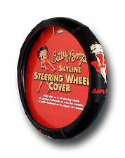 New Betty Boop Skyline Steering Wheel Cover Universal Fit 14.5''-15.5'' Car SUV