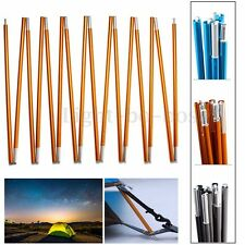Aluminum Alloy Spare Replacement Tent Poles 8.5/9.5/11mm Blue Golden Grey NEW