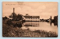 La Fayette, RI - EARLY 1900s VIEW OF OLD MILL - POSTCARD - R4