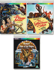 New & Sealed UK Editions Sinbad Blu-ray Trilogy All 3 Films Restored in 2019
