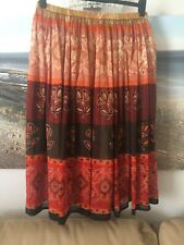 Maxi Skirt Fully Lined, Size 16 Perfect Condition 🌸