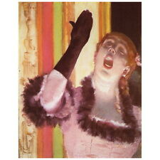 Edgar Degas, Singer with Glove Deco FRIDGE MAGNET, 1878 Chanteuse au gant Gift