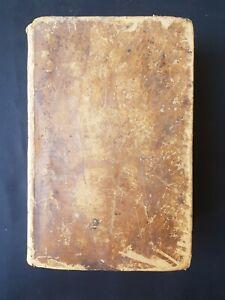 Dictionnaire grec-français Planche 1845 - Reliure cuir