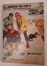 "RARE CANADIAN ""CANADIAN TIRE CORP. 1965-66 FALL AND WINTER"" CATALOGUE-EXCELLENTi"