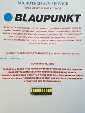 Blaupunkt 46/188G 10 piece edge lit LED repair kit, screen  samsung LTA460HN05