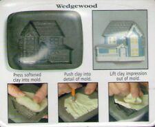 Amaco Push Molde Molde Casa Serie 1 País # 1 Wedgewood Casa Sheri Frey 1999