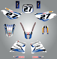Custom decals for Yamaha TTR 125 / 2000 - 2007 sticker kit STORM style