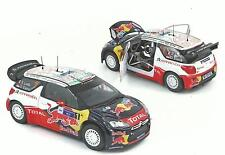 NOREV 1:18 AUTO DIE CAST CITROEN DS3 WRC RALLY  MESSICO 2011 LOEB/ELENA   181558
