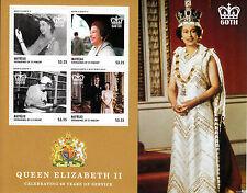 Mayreau Gren St Vincent 2013 MNH Coronation Queen Elizabeth II 60th 4v MS Stamps
