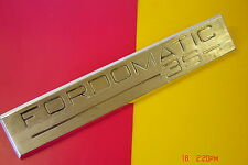 1960s GENUINE FORD FORDOMATIC 3S, 35, XP FALCON, FAIRMONT, REAR BADGE EMBLEM.