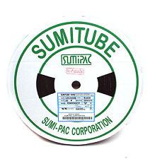5x1m SUMITUBE NHR2 NHR2-3 3mm Heat Shrinkable Tube Sleeve 125℃ 600V UL Black