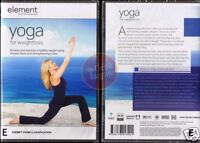 YOGA FOR WEIGHT LOSS Element Mind & Body fitness DVD R4 (Region 4 Australia)