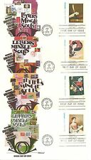 US SC #  1530-1537 Upu Centenary FDC. Fleetwood Cachet. 8 Covers set.