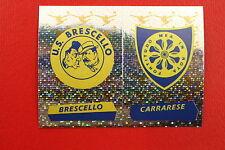 Panini Calciatori 2000/01 N.  630 BRESCELLO CARRARESE SCUDETTO NEW DA EDICOLA!!