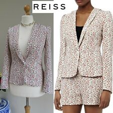 REISS LOLLI Blazer Vintage Cute Candy Fitted Summer Spring Jacket UK 8/10 US 4/6