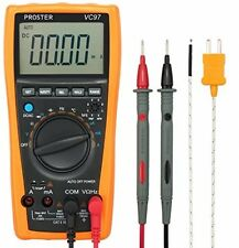 Digital Multimeter Proster 3999 VC97 LCD Auto Ranging Multi Meter CAT II with