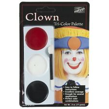 Mehron Tri-Colour Halloween Make Up Palette - Clown
