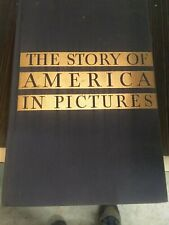 Antique The Story of America in Pictures by Alan C. Collins / 1935 Hardcover
