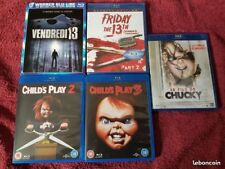 Lot 8 Films Blu Ray Horreur friday the 13th Chucky