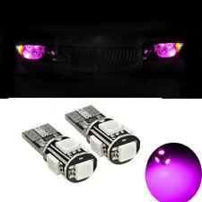 2 ampoules à LED smd Rose w5w Veilleuses MERCEDES Classe A B C CLK CLS CL E ML
