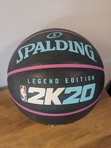 Spalding Nba 2k20 Limited Edition Basketball Miami Colourway