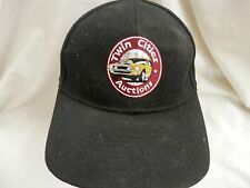 trucker hat baseball cap cool TWIN CITIES AUCTIONS antique black nice