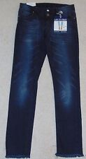 ~NWT Women's ALMOST FAMOUS Let It Fray Ankle Skinny Jeans! Size 7 Nice FS:)~