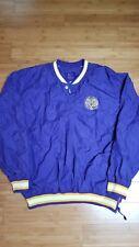 New listing LSU Tigers Windbreaker Jacket Starter Size XXL
