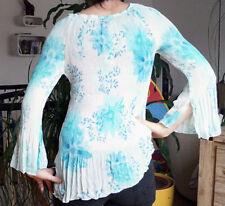 •●✿ღBluse Tunika Shirt-schicker Hingucker für Party & Freizeit-Gr. 38/40-NEUღ✿●•
