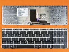 Teclado Español Hp Probook 6560B negro con marco plateado    0120047-MP