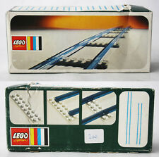 VERY RARE VINTAGE 1974 LEGO SYSTEM 150 TRAIN STRAIGHT TRACK NEW MISB SEALED !
