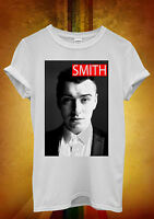 Sam Smith Music Funny Hipster Cool Men Women Unisex T Shirt Tank Top Vest 8