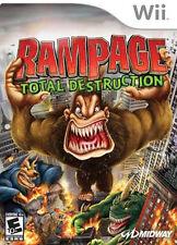 Rampage: Total Destruction WII New Nintendo Wii