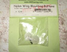 RC AE BRP DYABLE WING BUTTONS WHITE NYLON FOR RC10 JRX2 OTHERS (2) 5248