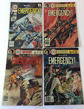 1976 Charlton Comics EMERGENCY! firefighter tv show comics #1 2 3 4~FULL SET 1-4