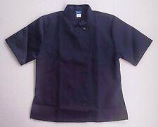 Kng Brand Adult Xl Restaurant Chef Coat Jacket. Rn104547 New! Black