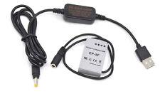 EN-EL24 camera power supply usb cable EH-5A+ EP-5F dc coupler for Nikon 1 J5 1J5